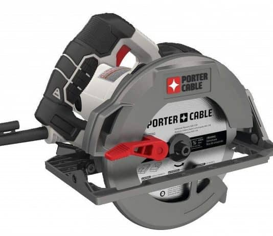 PORTER-CABLE PCE310 Circular Saw Review